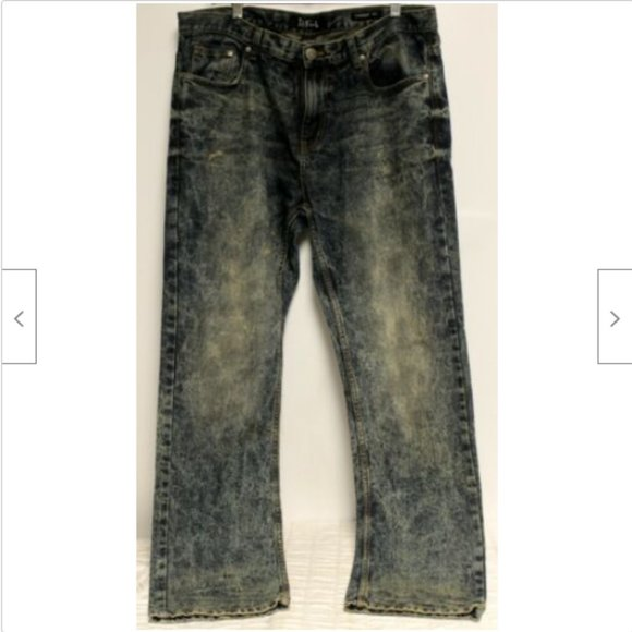 ReFuel Denim Jeans Mens Sz 38x 32 Blue Dark Acid W